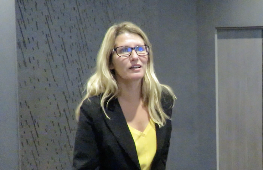 Muriel Formont, un des visages de la communication interne