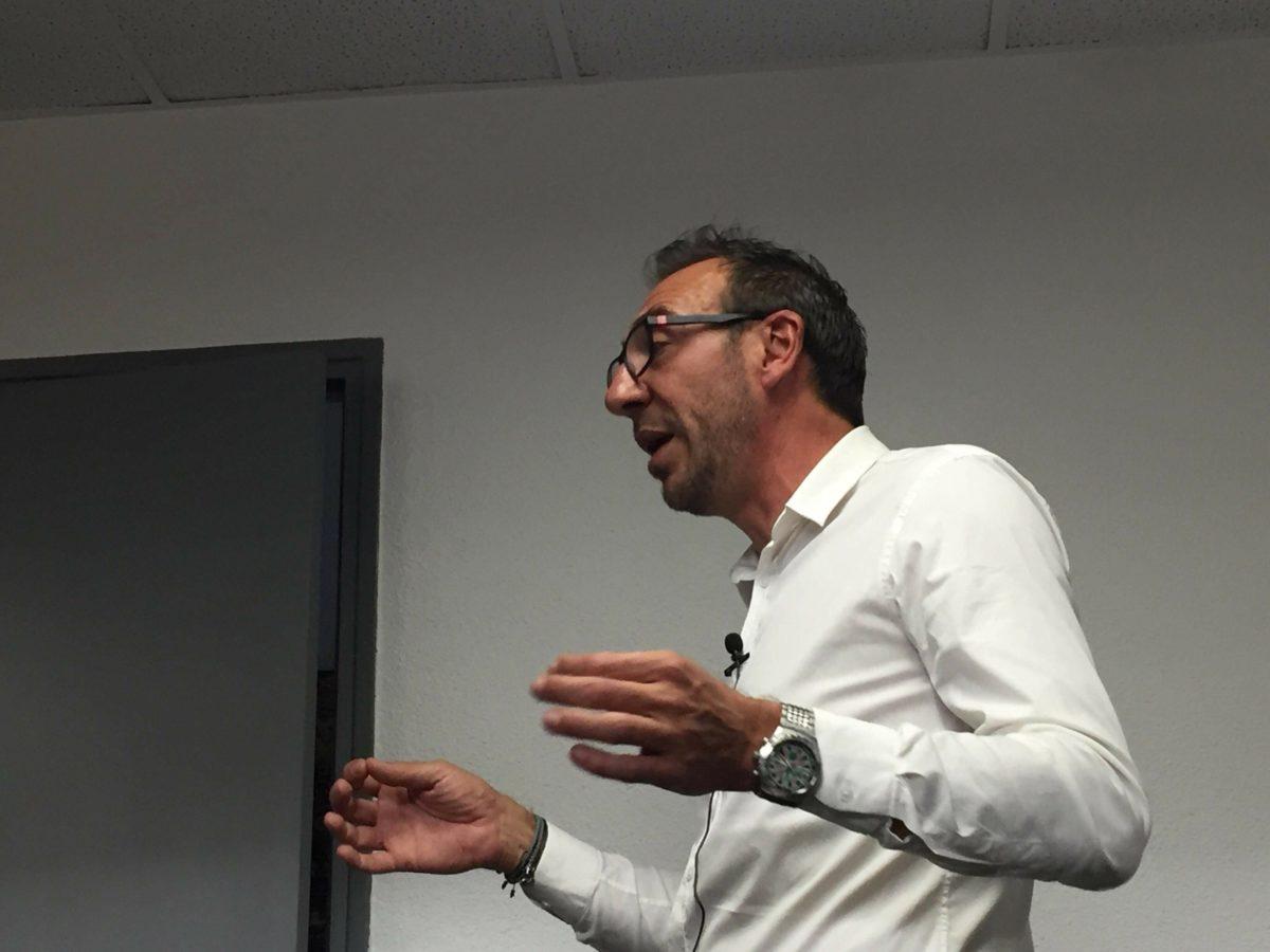 Christophe Mell, l'entrepreneur qui s'est fait sur le tard