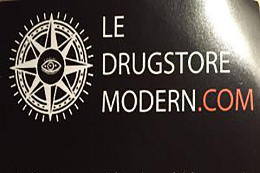 Le Drugstore Modern, une ''déco'' branchée !
