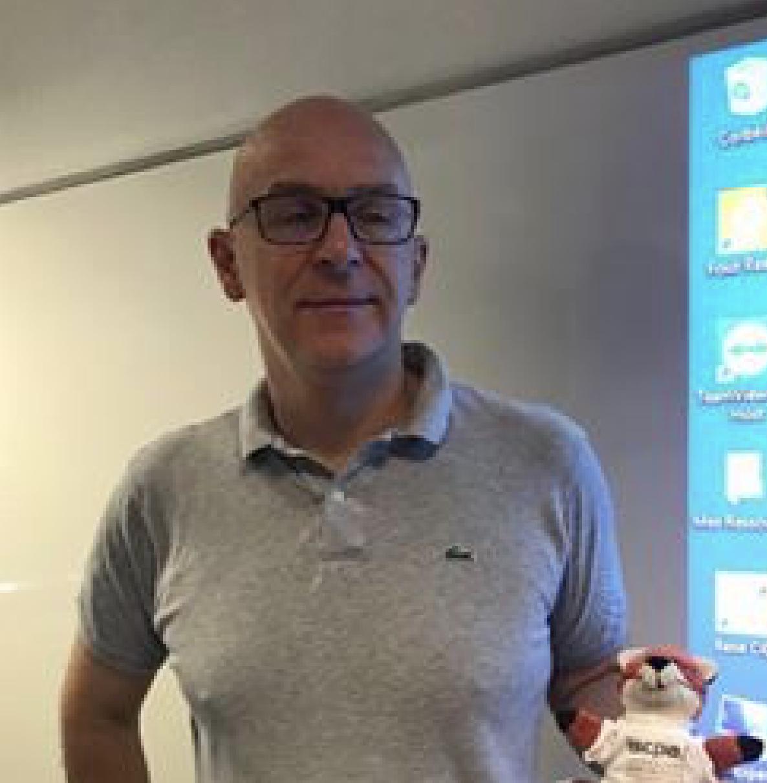 Jean-Louis Rioual, délégué général du Club de la presse de Lyon