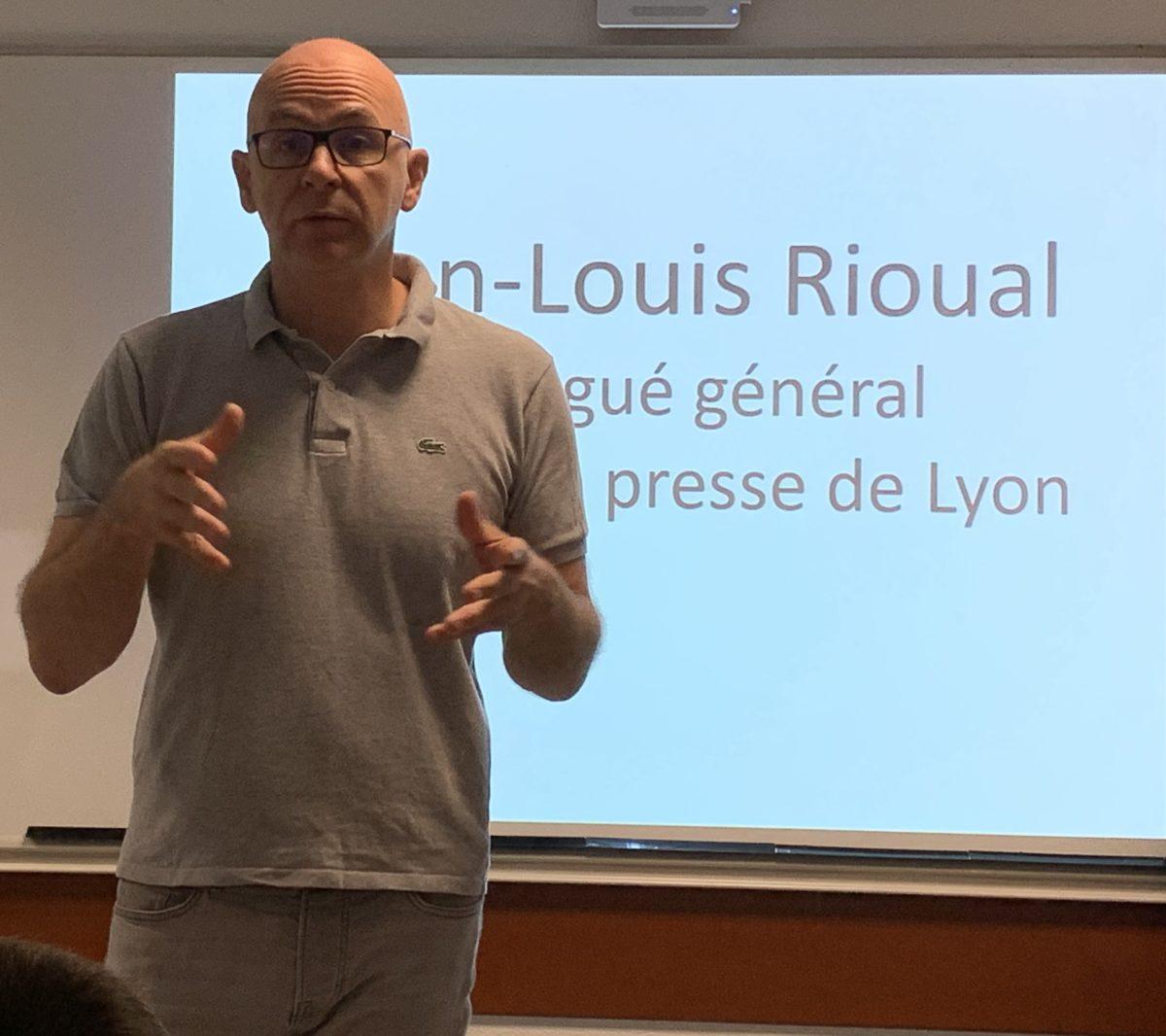 De géographe à délégué du Club de la Presse de Lyon