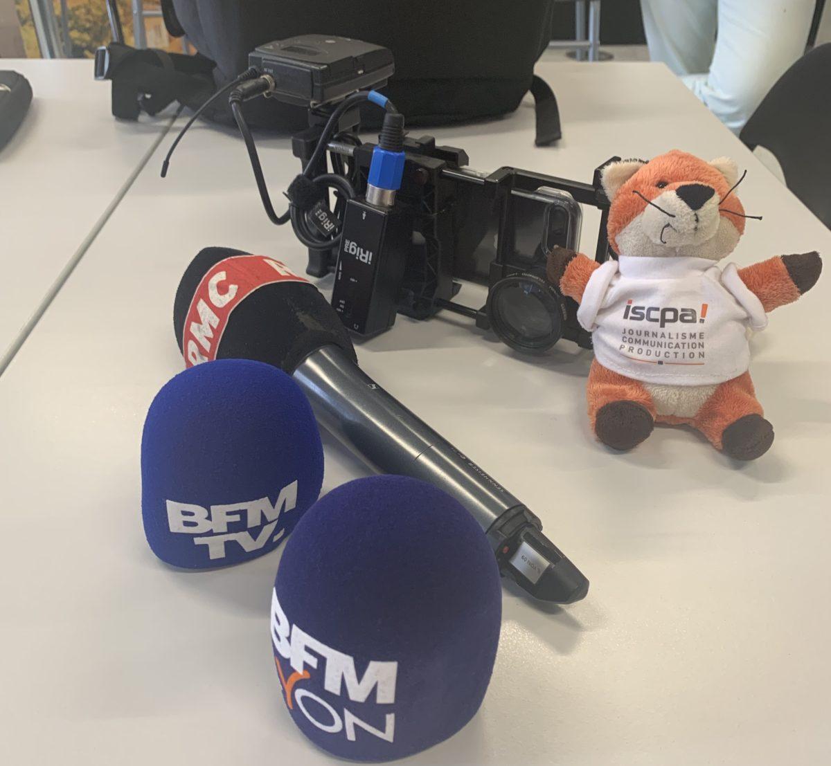 Rencontre avec les journalistes de BFM LYON