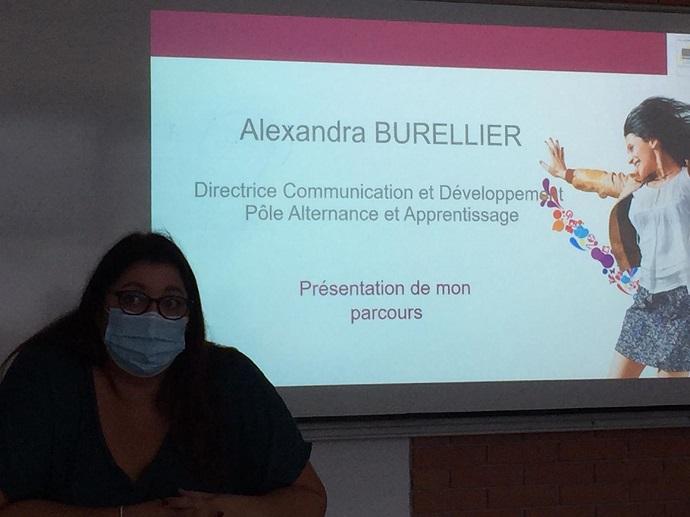 « J'ai toujours voulu travailler dans la communication » : Portrait d'Alexandra Burellier