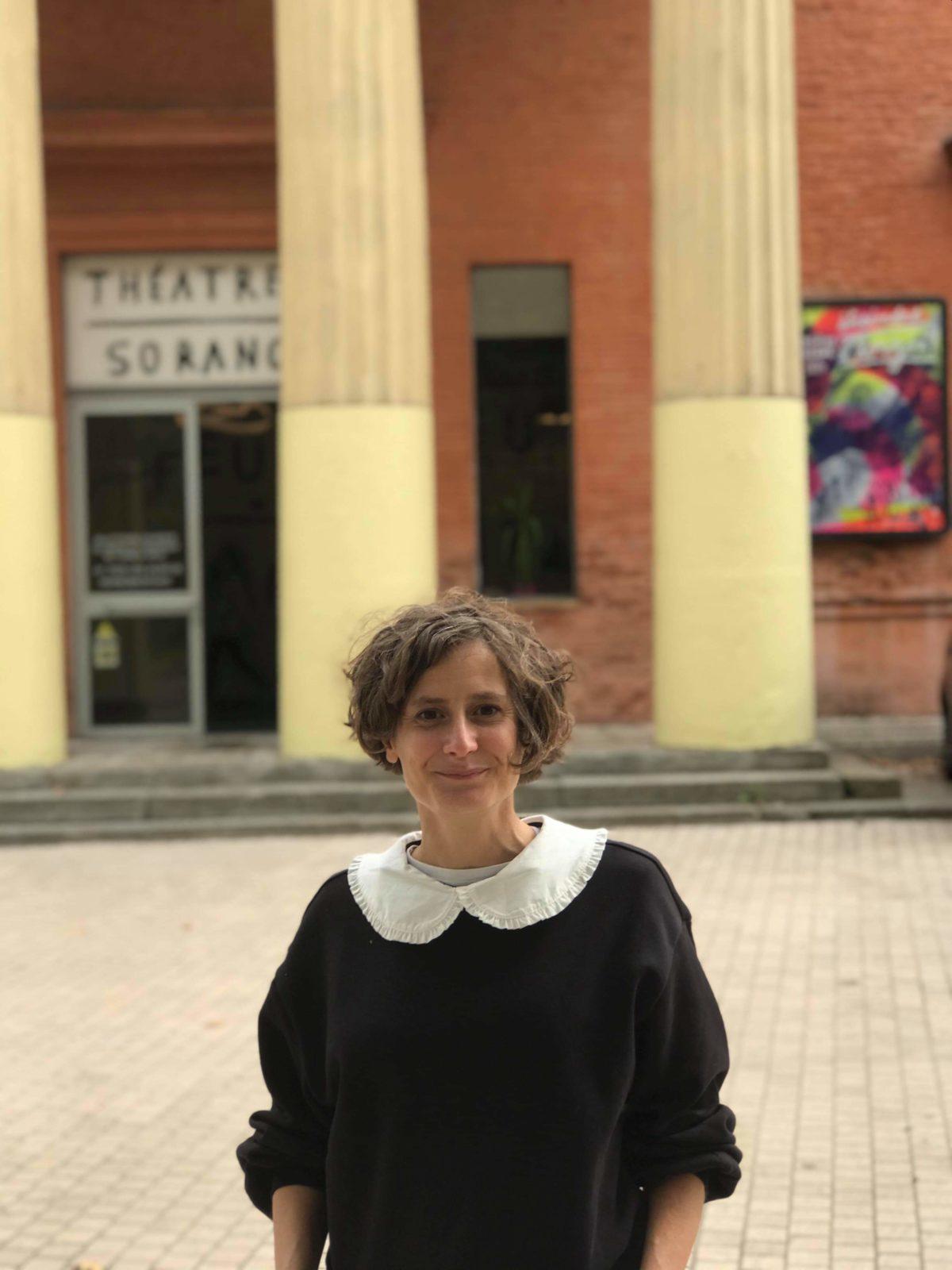 Karine CHAPERT : du journalisme au théâtre Sorano
