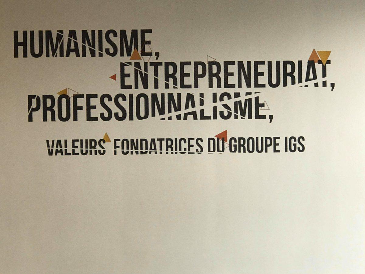 Les valeurs fondatrices du groupe IGS, socle de sa pédagogie