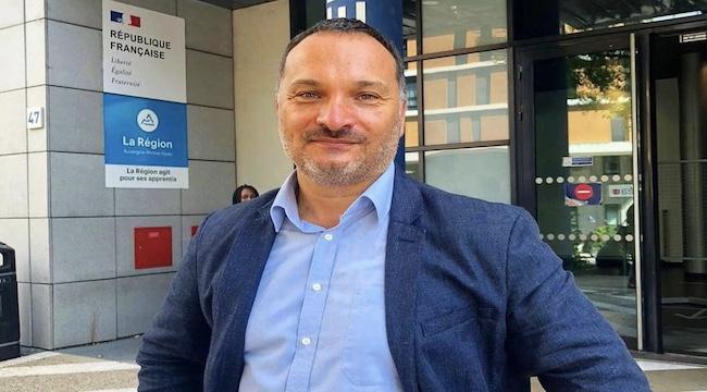 Boris Heim, directeur du Club de la Presse à Lyon